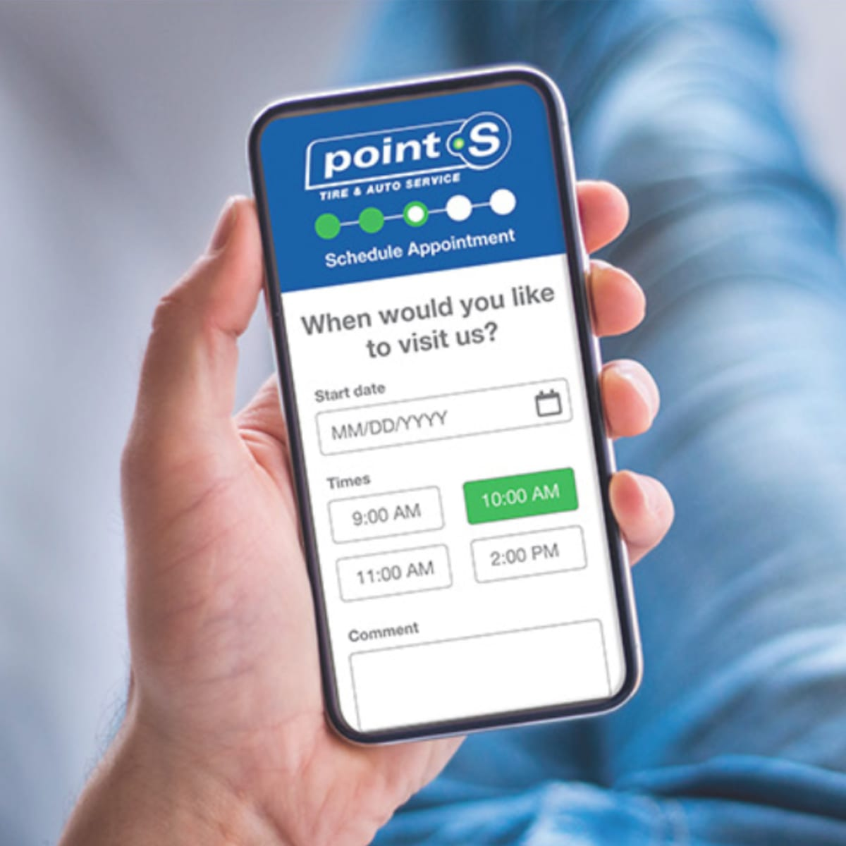 Point S Mobile App